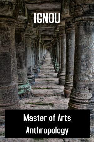 Master of Arts Anthropology Books (MAAN)