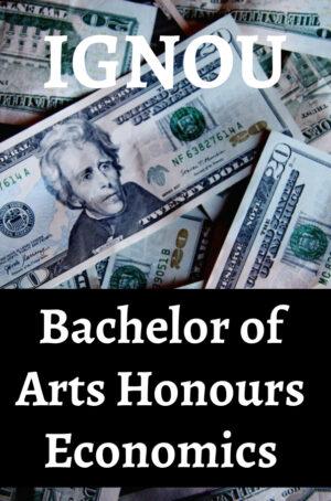 Bachelor of Arts Honours Economics Books (BAECH)