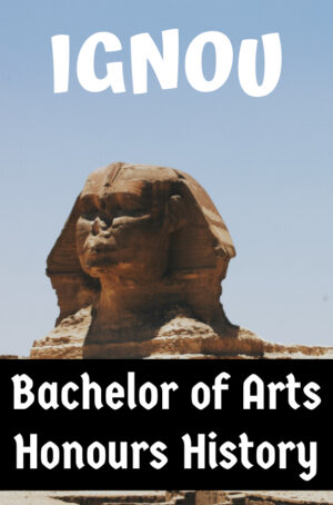 Bachelor of Arts Honours History Books (BAHIH)