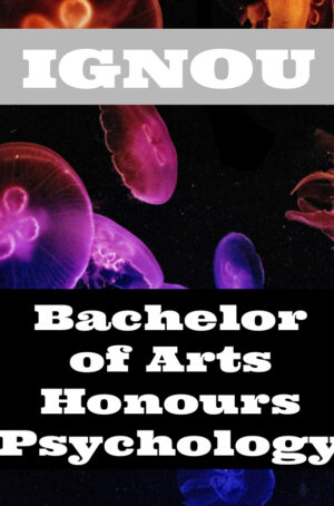 Bachelor of Arts Honours Psychology Books (BAPCH)