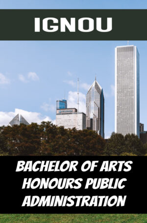 Bachelor of Arts Honours Public Administration Books (BAPAH)