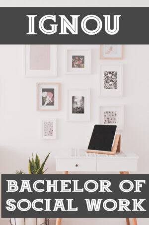 Bachelor of Social Work Books (BSW)