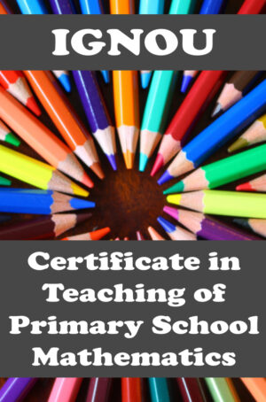 Certificate in Teaching of Primary School Mathematics (CTPM)