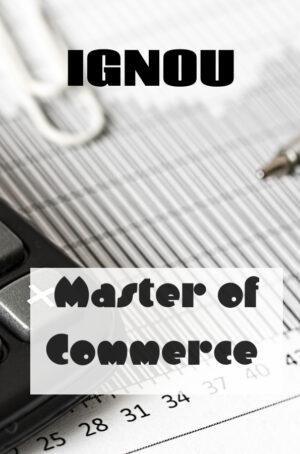 Master of Commerce Books (MCOM)