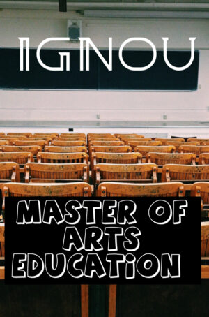 Master of Arts Education Books (MAEDU)