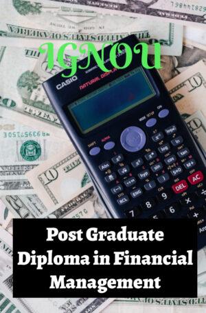 Post Graduate Diploma in Financial Management (PGDFM)