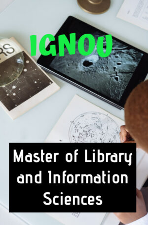 Master of Library and Information Sciences Books (MLIS)