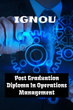 Post Graduation Diploma In Operations Management (PGDOM)