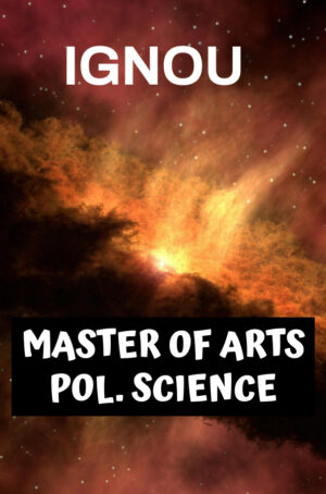 Master of Arts Political Science Books (MPS)