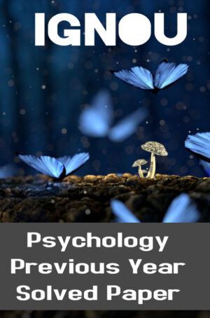 Psychology Previous Year Solved Paper (MAPC)