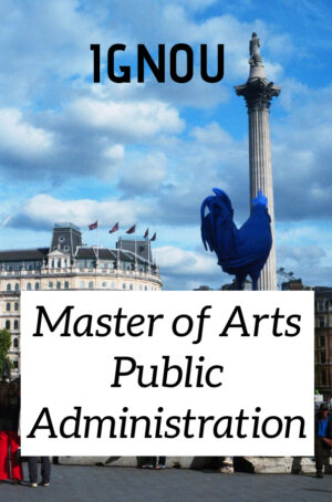 Master of Arts Public Administration Books (MPA)