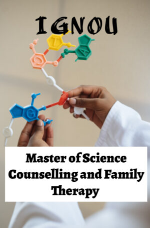 Master of Science Counselling and Family Therapy Books (MSCCFT)