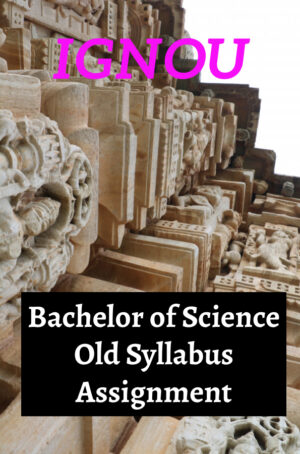 Bachelor of Science Old Syllabus Assignment