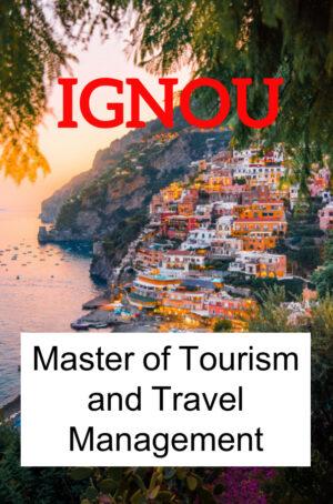 Master of Tourism and Travel Management Books (MTTM)