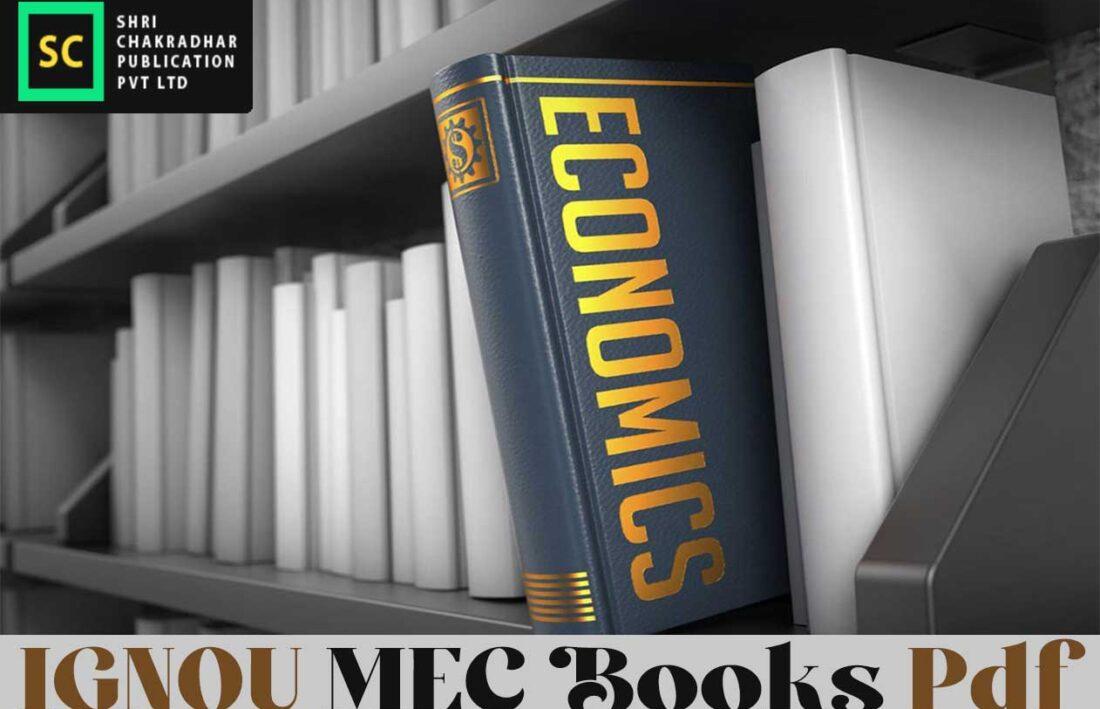 IGNOU MEC Books Pdf Download Link – MA Economics